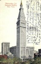 ins001042 - Metropolitan Life Insurance Building New York, USA Postcard Post Cards Old Vintage Antique