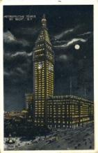 ins001049 - Metropolitan Tower New York, USA Postcard Post Cards Old Vintage Antique