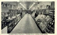 int001001 - Eckerd's Drug Store, Columbia, SC Retail Interior Postcard Postcards