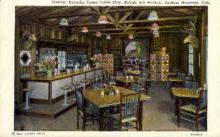 int001010 - Pahaska Tepee Coffee Shop, Lookout Mountain, CO Retail Interior Postcard Postcards