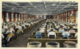 int001012 - Cigar Factory, Tampa, FL Retail Interior Postcard Postcards