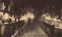 int001013 - Cherry Drug Co., Granbury, TX Retail Interior Postcard Postcards