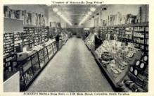 int001014 - Eckerd's Drug Store, Columbia, SC Retail Interior Postcard Postcards