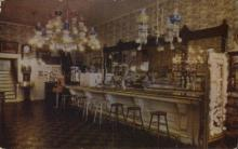 int001023 - The Famous Crystal Bar, Virginia City, USA Store Interior Postcard Postcards