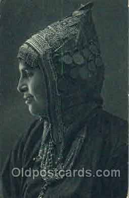 jud001125 - A Vemenite Beauty Judaic, Judaica, Postcard Postcards