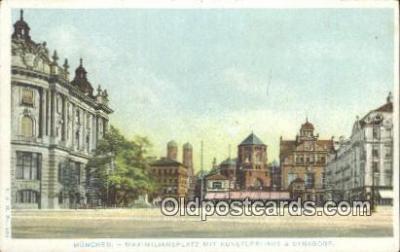 Maximiliansplatz mit Kunstlerhaus & Synagoge