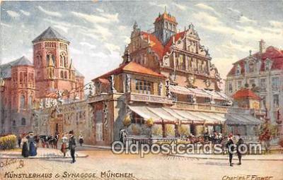 Kunstlerhaus & Synagoge Munchen
