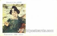 job001001 - Artist Maxence Collection Job Cigarette Advertising Postcard Postcards