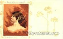 job001008 - Artist G. Maurice Collection Job Cigarette Advertising Postcard Postcards