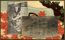 jpn000176 - Japan, Japanese Art, Artist, Postcard Postcards