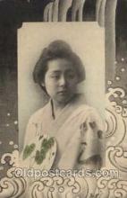 jpn000309 - Japan, Japanese Art, Artist, Postcard Postcards