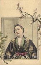 jpn000321 - Japan, Japanese Art, Artist, Postcard Postcards