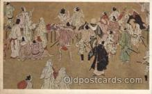 jpn001102 - Spectators at the horse race of the Kamo Festival Japanese Postcard Postcards