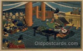 jpn001112 - Kusunoki Masashige in Shitennoji Japanese Postcard Postcards