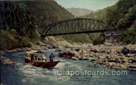 jpn001128 - Hozo Rapid (Arashiyama) Japanese Postcard Postcards