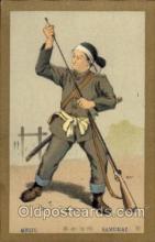 jpn001157 - Meiji, Samurai Japanese Postcard Postcards