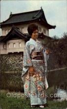 jpn001180 - Traditional Japanese Dress Japanese Postcard Postcards