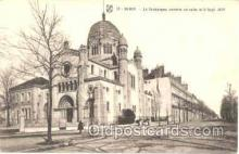jud001027 - Dijon, Synagogue, Judaic Postcard Postcards