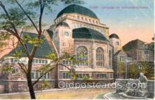 jud001044 - Essen Synagoge, Judaic Postcard Postcards