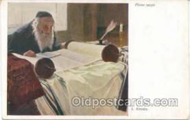 jud001054 - Artist L. Krestin, Judaic Postcard Postcards