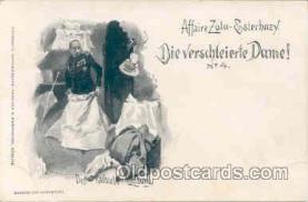 jud001057 - Affaire Zola - Esterhazy, Judaic Postcard Postcards