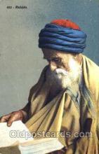 jud001116 - Vieux Rabbin Judaic, Judaica, Postcard Postcards