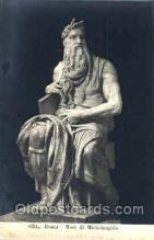 jud001122 - Michelangelo, Moses Judaic, Judaica, Postcard Postcards
