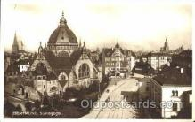 jud001127 - Dortmund, Synagogue Judaic, Judaica, Postcard Postcards