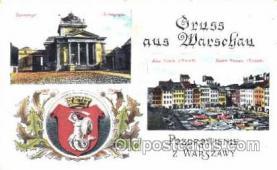 jud001129 - Gruss aus, Warschau, Judaic, Judaica, Postcard Postcards