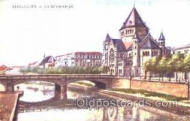 jud001140 - Strasbourg Synagogue, Judaic, Judaica, Postcard Postcards