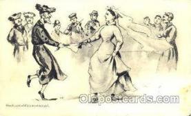 jud001145 - Hochzeits,  Judaic, Judaica, Postcard Postcards