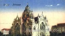 jud001150 - Szeged Synagougue,  Judaic, Judaica, Postcard Postcards