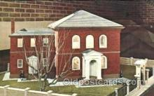 jud001164 - Touro Synagogue, Newport, R.I. USA Judaic, Judaica, Postcard Postcards