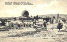jud001170 - View of Temple Area Judaic, Judaica, Postcard Postcards