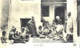 jud001171 - Famille Juive Judaic, Judaica, Postcard Postcards