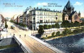 jud001183 - Strasbourg Synagogue Judaic, Judaica, Postcard Postcards