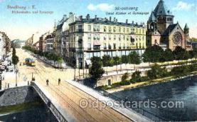 jud001192 - Strasbourg Synagoge Judaic, Judaica, Postcard Postcards