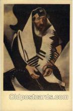 jud001198 - Artist Marc Chagall - Portrait of a Rabbi