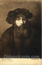 jud001199 - Rembrandt - Jewish Rabbi, Judaic Postcard Postcards