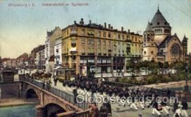jud001327 - Strassburg, I.E. Synagoge, Judaic, Judaica, Postcard Postcards