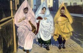 jud001328 - Juives Tunisiennes, Judaic, Judaica, Postcard Postcards