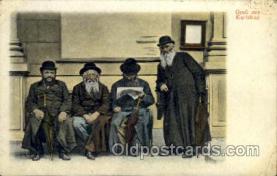 jud001334 - Grub Aus Karlsbad, Judaic, Judaica, Postcard Postcards