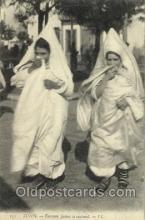 jud001351 - Tunis - Femmes Juives se cachant, Judaic, Judaica, Postcard Postcards