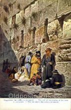jud001356 - Jerusalem, Judaic, Judaica, Postcard Postcards