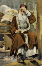 jud001358 - Salonica - A Jewish Merchant, Judaic, Judaica, Postcard Postcards