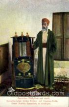 jud001361 - Samaritan Highpriest and Scroll, Judaic, Judaica, Postcard Postcards