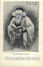 jud001370 - The Morning Prayer, Judaic, Judaica, Postcard Postcards