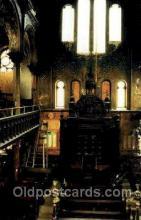 jud001392 - Eldridge Street Synagogue, New York, USA, Judaic Judaica, Postcard Postcards