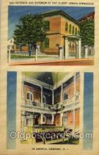jud001396 - Newport, Rhode Island, USA, Oldest Jewish Synagogue, Judaic Judaica, Postcard Postcards