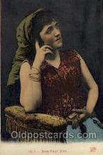 jud001399 - Jeune Fille Juive, Judaic Judaica, Postcard Postcards